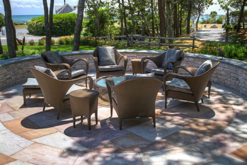 Ritchie round patio tonemapped